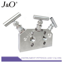 Stainless Steel Instrument 3ways Valve Manifold